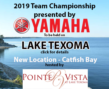 TEAM CHAMPIONSHIP HEADS BACK TO LAKE TEXOMA IN A NEW LOCATION.  Click the image for details, off-limits, rules, etc.
