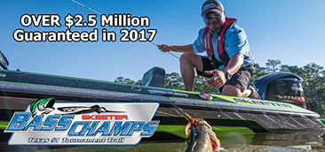 2017 Schedules are available.  Over $2.5 Million Guaranteed.   See you on the water soon.
