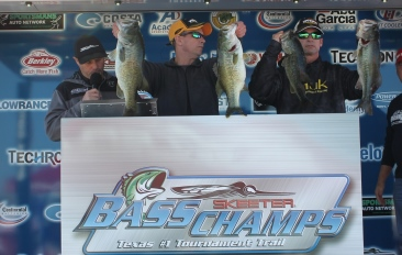 Bronder & Leonard bring in 25.49 lbs- take home over $20,000