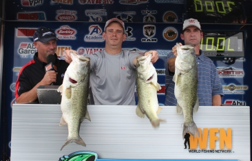 Lee Leonard and Scott Bronder win over $15,000 with 3 fish that weigh 20.56