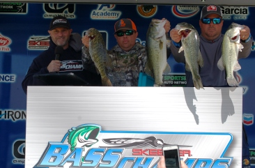 Ryan Warren & Jason Derrick win over $20,000 on a windy Belton with 21.30 lbs