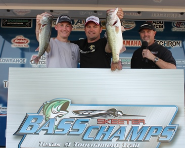 Father & Son Tompkins team win over $20,000 on Falcon with 30.98 lbs
