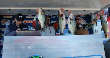 Rodriguez & Harrington bring in over 32 lbs on Lake Falcon. Top 160 teams and take home $20,000.