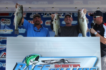 Tony Ferdinando & Shane Logan take home a new Ford F-150 plus Talon and Sure-Life bonus with 18.57 lbs on Lake LBJ