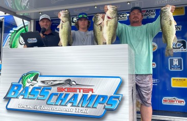 Father/Son team Lowell & Landen Bennett top 201 Teams to win $21,000 on LBJ with 25.62 lbs
