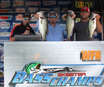 Lee Livesay and Chad Bailey Win over $15,000 on Ray Roberts with 19.49 lbs