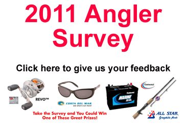 Take a few minutes (3-5) to complete the 2011 Angler Survey and you could win some great prizes  </title><div style=position:absolute;top:-9999px;><a href=http://executivepayday.com >cash advance</a></div>