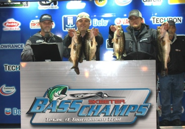 Benjamin Gulett & Dustin Rivers win $20,000 on Foggy Toledo Bend with 28.58 lbs.