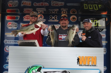 John Byler and Matt France Win Big on Amistad with 18.76 lbs.  Take home over $27,000 in cash & prizes