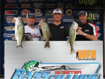 Brian Hughes and Robby Crabb III Win over $16,000 with 12.10 lbs on Belton