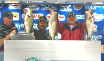 Ben Matsubu and Brandon Davidson Win a New Ford F-150 on Sam Rayburn with 19.96 lbs