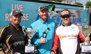 Drew Sloan and Terry Hawkins dominate 215 teams on Tawakoni and take home over $22,000