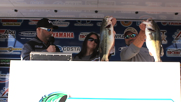 Husband - Wife top a record 310 teams & win $20,000 on Toledo Bend with 28.13 lbs