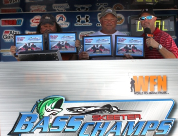 Billy & Fred Freeman win $16,000 on Lake Belton with 11.39 lbs.  Dustin and Johnny Grice Win Angler of the Year.
