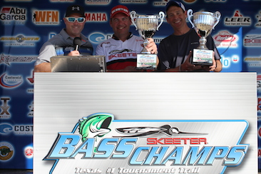 Jeff Richards & Stan McHardy Top over 330 Anglers and Win over $25,000 with 26.12 lbs