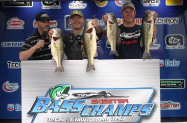 Tomasits & Laudadio win $25,000 in a slug fest on LBJ with over 28 lbs.