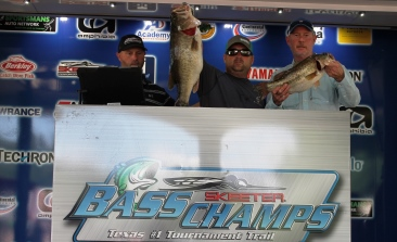 Harold Moore & Bryan Lohr win $50,000 at Techron TX Shootout on Rayburn with 28.71 lbs