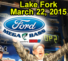 2015 Ford Mega Bass on Lake Fork
