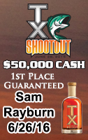 TX Shootout on Sam Rayburn